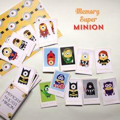 {Free} Un jeu de memory Super Minion à imprimer! DIY Free memory Game Despicable