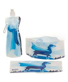 Look at this #zulilyfind! Super Wiener H2Fido Portable Water Set by Modgy #zulilyfinds
