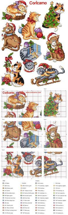 #Coricamo - #Crossstitch, #freecharts, #Haftkrzyżykowy, #výšivka, #Kreuzstich, #BożeNarodzenie, #Weihnachten, #Vánoce, #Christmas. #Freepatterns,