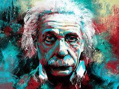 Happy Birthday, Albert Einstein by techgnotic on DeviantArt