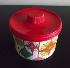 Mrs. Leland's Golden Butter Bits Candy Tin Retro