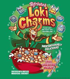 Loki Charms -- would you eat these...?<-- YES!!!