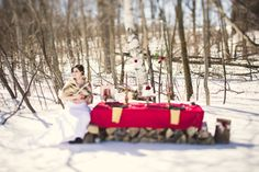 winter wedding Winter Wedding Inspiration, Wedding Shoot, Hair Makeup, Invitations, Photography, Outdoor, Outdoors, Hair Styles, Outdoor Games
