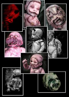 Autopsy Babies - Collect them all! Great on any occasion for the loved ones in your life... #dementeddolls