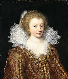 Portrait of Catharina Belgica by Jan Anthonisz van Ravesteyn, 1617