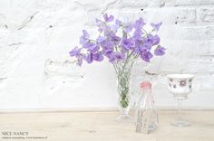 NICENANCY.NL: flowers (lathyrus) for my mum