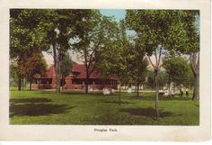 From Souvenir Folder of Danville Douglas Park