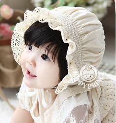 For baby flower girl... Probably not as cute as THIS baby, but we do our best.