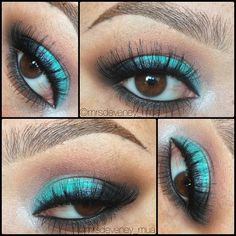 30 Glamorous Eye Makeup Ideas For Dramatic Look 27 - Dramatic Wedding Makeup Dramatic Wedding Makeup, Wedding Eye Makeup, Dramatic Eye Makeup, Cat Eye Makeup, Colorful Eye Makeup, Beautiful Eye Makeup, Simple Eye Makeup, Dramatic Eyes, Natural Eye Makeup