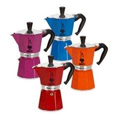 Buy Bialetti® Moka Express Stovetop Espresso 6-Cup Coffee Maker from Bed Bath & Beyond