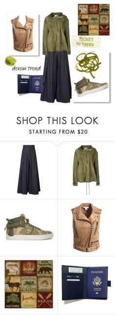 """""""Green outfit 👽💚"""" by luuiizza ❤ liked on Polyvore featuring Brunello Cucinelli, Yves Saint Laurent, BUSCEMI, Sans Souci and Courtside Market"""