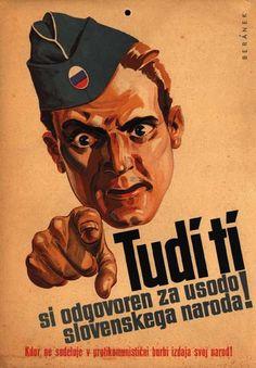 Yugoslav Propaganda Poster