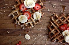 Whole Grain Waffles with Millet, Poppy, Sunflower, and Flax by joythebaker: Based in whole wheat flour with all sorts of health and crunch.  #Waffles #Whole_Grain #Healthy