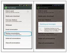 Make you WhatsApp conversation in secure, Take latest backup any time or before uninstall from your iPhone and Android mobile.  Also see where store latest backup taken by you!!!  Kindly stay touch with US!! for more tips on tech and updates