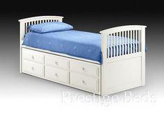 Hornblower Cabin Bed - White