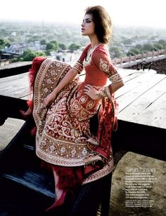 Outfit by:Tarun Tahiliani... Who else could capture elegance and tradition so beautifully?