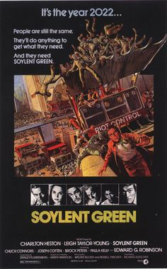 Halloween style!! A Sci-Fi film for your Halloween Feast! - soylent green