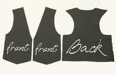 (the girl vest Projects to Try Sewing patterns woman waistcoat pattern free - Woman Waistcoats Sewing Patterns Free, Free Sewing, Sewing Tutorials, Free Pattern, Diy Clothing, Sewing Clothes, Outdoor Clothing, Sewing For Kids, Baby Sewing