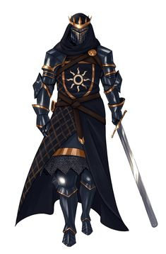 """romans-art: """"another Witcher OC: Siân the Carnifex, an Imperial executioner of Nilfgaard, and Eilidh's sworn enemy """" Fantasy Concept Art, Fantasy Armor, Medieval Fantasy, Fantasy Character Design, Dark Fantasy Art, Character Design Inspiration, Character Art, Animation Character, Dungeons And Dragons Characters"""