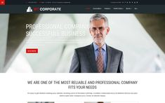 Corporate Business Joomla Template Seo Plugin, Web Design Software, Create Your Website, Joomla Templates, Creative Portfolio, Portfolio Website, Corporate Business, Light In The Dark