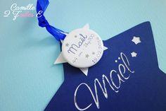 faire-part étoile magnet bleu nuit blanc 2