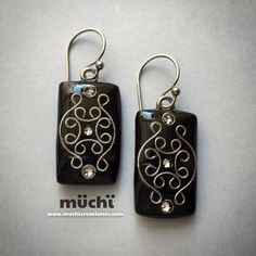 85.4. Polymer clay earrings fimo