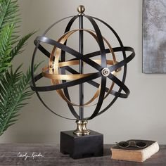 Rondure Orb Sculpture