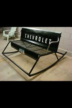 Tail gate bench/rocker