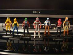 Custom M. figures in larger scale. Marvel Legends, Gi Joe, Good Old, Childhood Memories, Action Figures, Crime, Cartoon, Toys, Larger