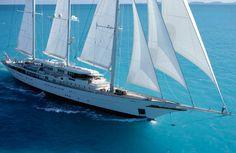Royal Huisman Sailing Yacht Athena