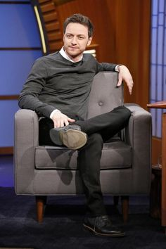 James McAvoy Chats With Seth Meyers On 'Late Night' [VIDEO ...