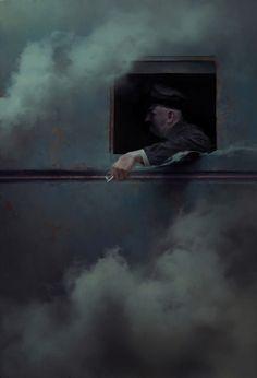 Piotr Jabłoński (aka Nicponim) is a digital painter and concept artist from Bialystok, Poland. Enjoy his brutally detailed paintings so wonderfully weird. Detailed Paintings, Concept Art World, Art Plastique, Dark Art, Digital Illustration, Cool Art, Contemporary Art, Art Photography, Collage