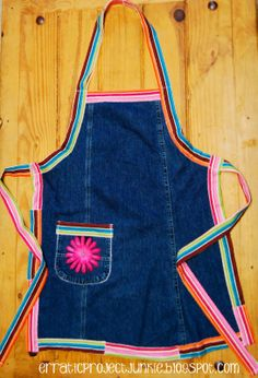 Aprons made from jeans!