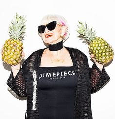 Baddie Winkle in DimePiece is actually a pineapple non issue. #thepineappleissue