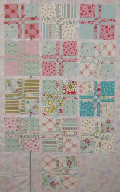 Alamosa Quilter: Disappearing Four Patch