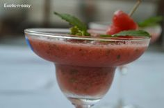 exotic-n-easy cooking: Melon Frappe