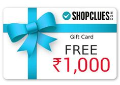 Shopclues SBI 1000 Gift Voucher Sale Offer : Get Rs 1000 Gift Voucher on Spent 3000 - Best Online Offer