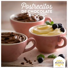 Postrecitos de #Chocolate