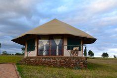 Tented rondavel at the Karatu Simba Lodge: An Eco-friendly Lodging with Stunning Views in Karatu Tanzania