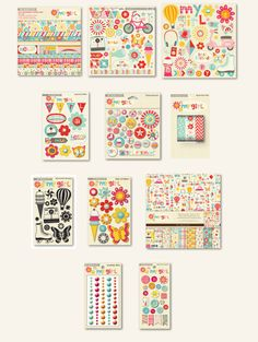 My Mind's Eye: My Girl Collection #CHAShow #scrapbooking