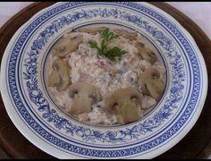 Riso, funghi, ricotta e pomodorini www.nutriercol.it