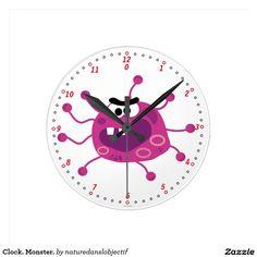 Clock. Monster.