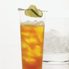 Dark 'n' Stormy   According to a Gosling's Rum tale, this drink was invented more than 100 years ago when members of Bermuda's Royal Naval Officer's Club added a splash of the local rum to their spicy homemade ginger beer.