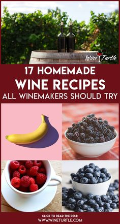 17 Delicious Homemade Wine Recipes With Full Instructions, Food And Drinks, We put up this list of 17 delicious wines, so you will certainly be able to find perfect homemade wine recipes for your taste. Homemade Wine Recipes, Homemade Alcohol, Homemade Liquor, Homemade Wine Making, Alcohol Drink Recipes, Sweet Wine, In Vino Veritas, Food To Make, Guacamole