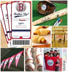 baseball party-- love the idea of everyone signing the bat! Happy Birthday Manager, Third Birthday, Boy Birthday, Birthday Parties, Birthday Ideas, Kid Parties, Summer Birthday, Theme Parties, Baseball Birthday