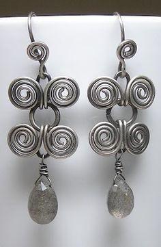 Artyzen Studio: Egyptian Coiled Wire Wrapped Earring Jewelry Class in Reston
