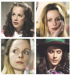 Romana, played by Mary Tamm and Lalla Ward.