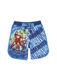 Marvel Avengers Assemble Swimming Trunks at F&F Ibiza 2016, Marvel Avengers Assemble, Swim Trunks, Cactus, Shots, Swimming, Fashion Outfits, Superhero, Clothes For Women