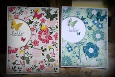 DailyStampede 21 July 2014, All Abloom Card Class using Stampin' Up! All Abloom DSP stack