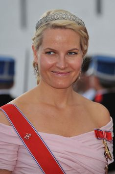 Crown Princess Mette-Marit wore this tiara for Prince Joachim of Denmark's wedding on May 24, 2008.